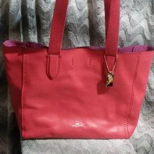 Coach derby tote handbag